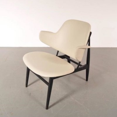 Shell Chair by Ib Kofod-Larsen for Christensen & Larsen, Denmark 1950s