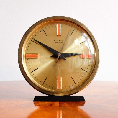 Electronic clock by Weimar, 1960s