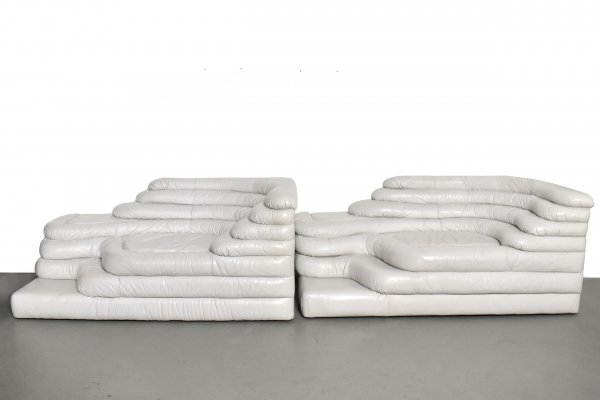 2 x Terraza sofa by Ubald Klug for De Sede, 1970s
