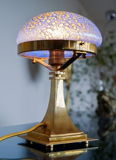 Pair of Jugendstil Table Lamps, 1920s