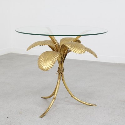 Hans Kögl side table in Hollywood regency style, 1960s