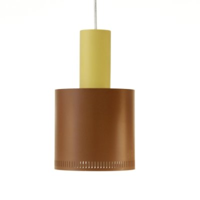 Metro hanging lamp by Jo Hammerborg for Fog & Mørup, 1960s