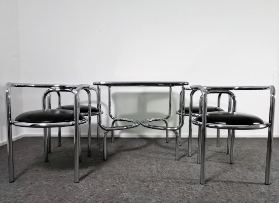 Dining set 'Locus Solus' by Gae Aulenti for Poltronova, 1964