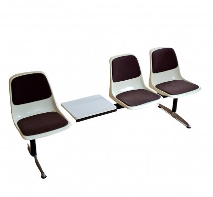 Mid Century Modular Bench by Gerd Lange for Drabert, 1960s
