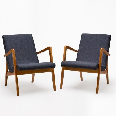 Pair of Type 300-138 arm chairs, 1960s