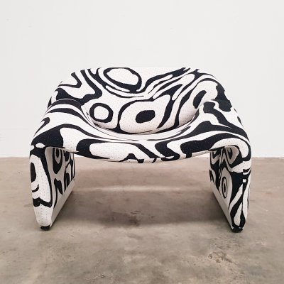 Groovy chair by Pierre Paulin for Artifort, 1980s