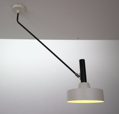 Model '190 B' Wall or Ceiling Lamp by Willem Hagoort, Netherlands 1950s