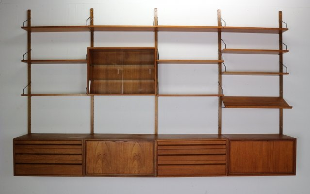 Extra Large Poul Cadovius for Royal System Wall Unit, 1950's