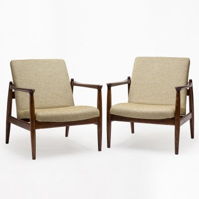 Pair of GFM 64 armchairs by Edmund Homa, 1960s