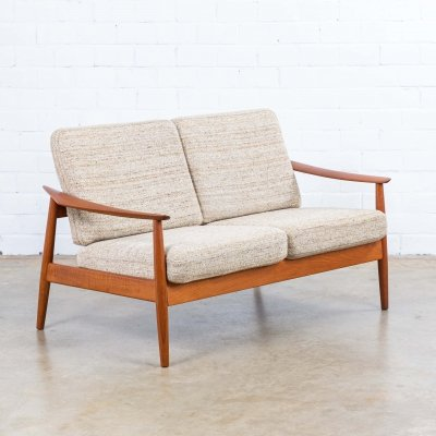 Model 164 sofa by Arne Vodder for France & Son, 1960s