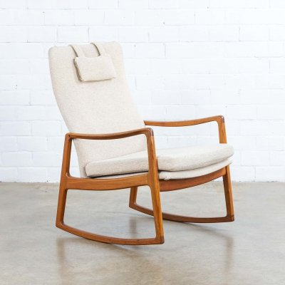 Rocking chair by Ole Wanscher for France & Son, 1960s
