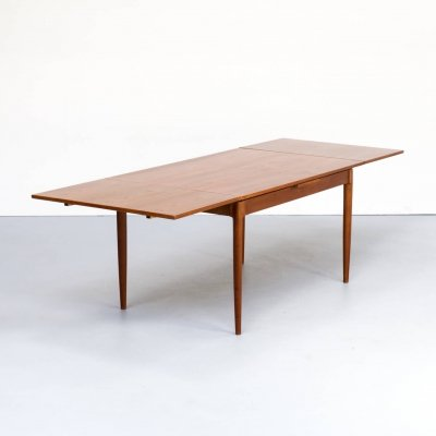 60s Niels Otto Møller extendable dining table 'model no 12' for J.L. Møllers