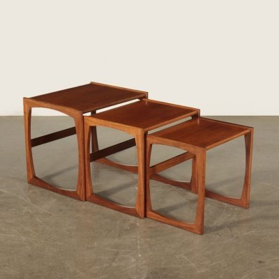 Set of 1960s Nesting Tables by G Plan