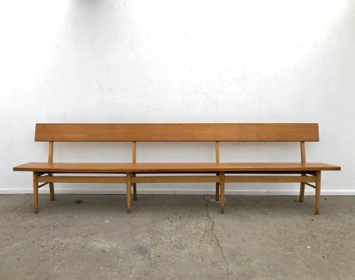 Vintage Danish pew / church bench, 1960s