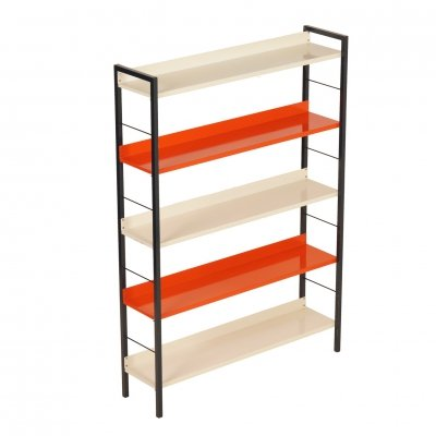 Metal Bookcase by Adriaan Dekker for Tomado, 1950s