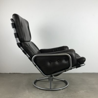 Spectrum SZ19 Tanabe Swivel Lounge Chair by Martin Visser, 1969