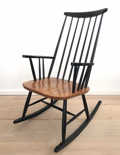 Rocking chair by Ilmari Tapiovaara for Pastoe, 1960s