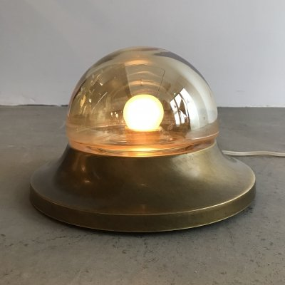 Teka Brass Wall- or Ceiling Lamp, 1960s
