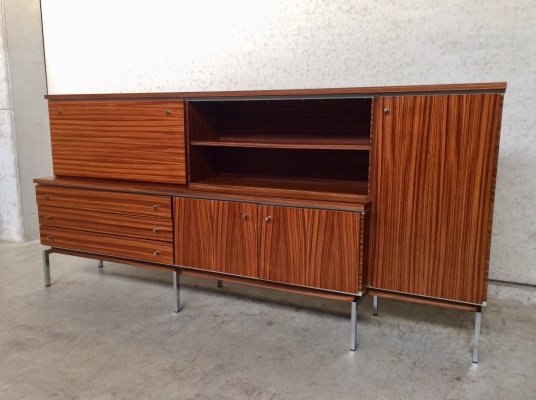 Midcentury Design Large Bar Buffet in rosewood, 1960's