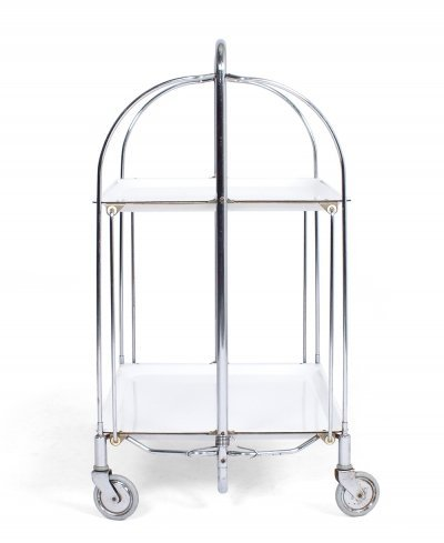 Foldable Gerlinol Serving Trolley from Bremshey & Co