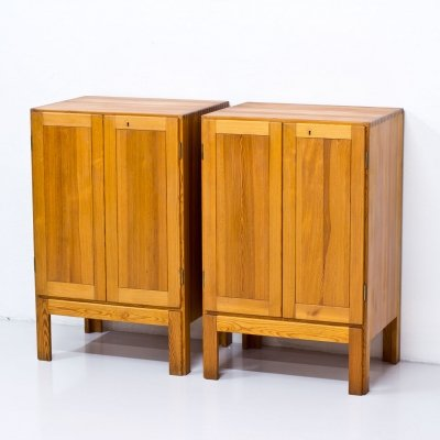 Pair of Oregon Pine Cabinets by Børge Mogensen