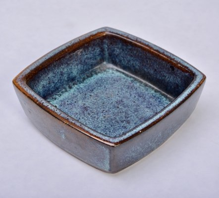 Rectangular stoneware bowl by Preben Herluf Gottschalk Olsen for Stogo
