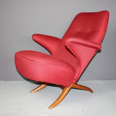 Pinguin Chair by Theo Ruth for Artifort, 1950s