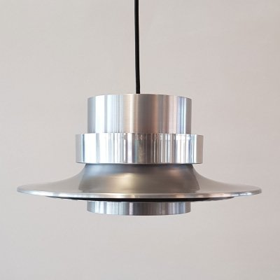 Swedish aluminium pendant by Carl Thore for Granhaga, 1960s