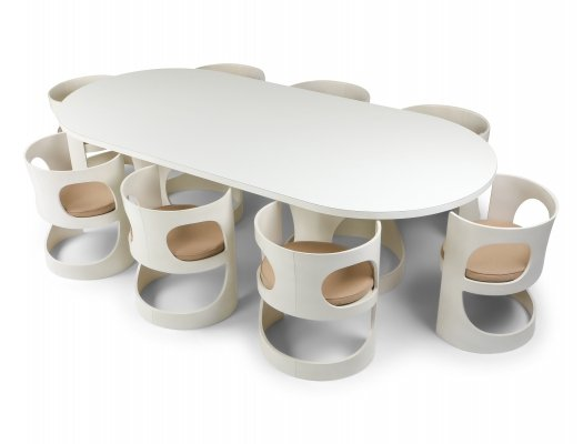 Arne Jacobsen Pre Pop Dining set for Asko, 1969