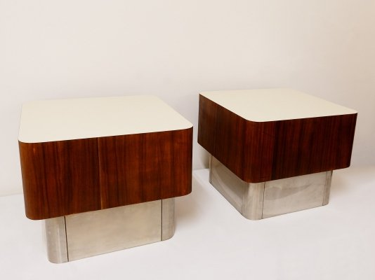 Pair Of Sofa Tables, 1960s