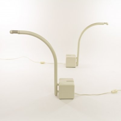 Pair of table lamps by Claus Bonderup & Torsten Thorup for Focus Denmark, 1970