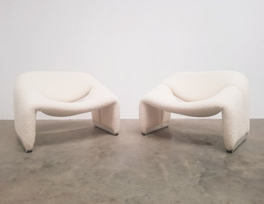 Set of Groovy chairs by Pierre Paulin for Artifort, 1970s