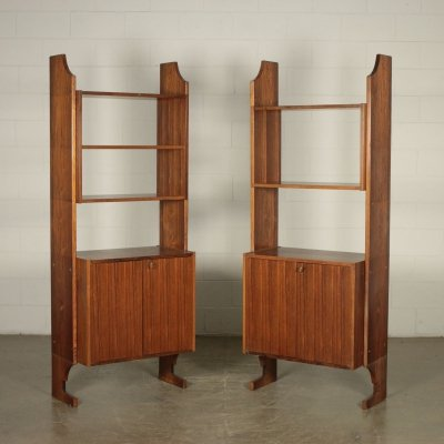 Pair of 1960s Vintage Bookcases