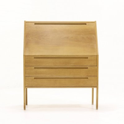 Mid-Century Oak Secretary Desk by Nils Jonsson for Tørring, 1960s