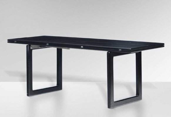 Extendable SC-66 Dining or Conference Table by Claudio Salocchi for Sormani, 1965