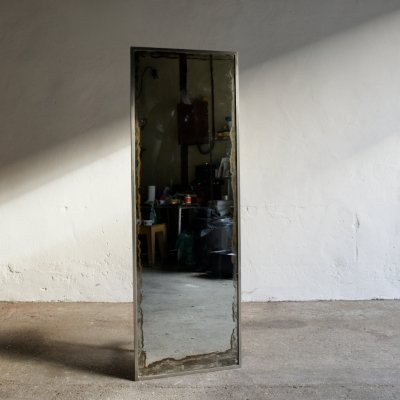 Full Size Steel Framed Mirror