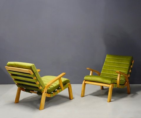 Pair of armchairs by Gustavo Pulitzer & Giorgio Lacht, 1930s