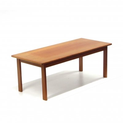 Danish vintage design coffee table from Kvalitet Form Funktion, 1960s