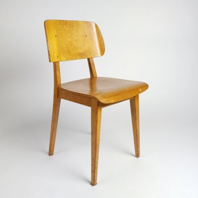 Rare first plywood chair manufactured by PASTOE, 1948