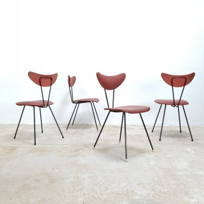 Rare set of 'butterfly' chairs by W.H.Gispen for Kembo