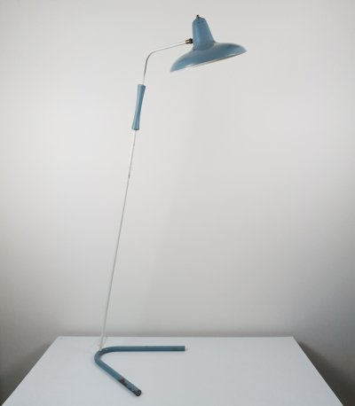 Extremely Rare Floor lamp by H. Fillekes for Artiforte (documented)