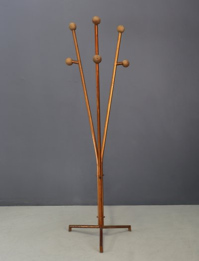 Cova MidCentury clothes hangers in painted steel, 1936