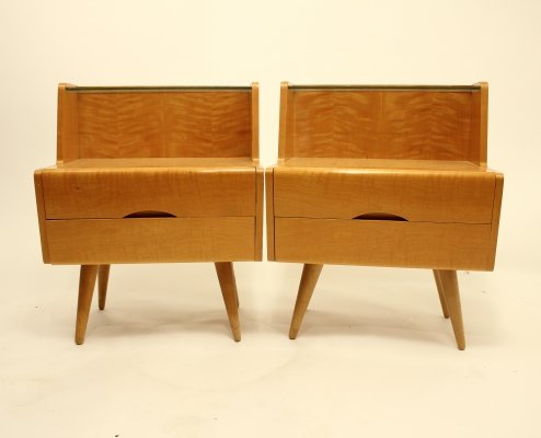 Pair of bedside tables, 1960s