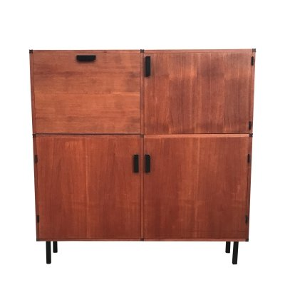 Teak Made to Measure cabinet by Cees Braakman for Pastoe, 1960s