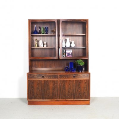Danish Rosewood Sideboard with loose showcase by Brouer Møbelfabrik, 1960s