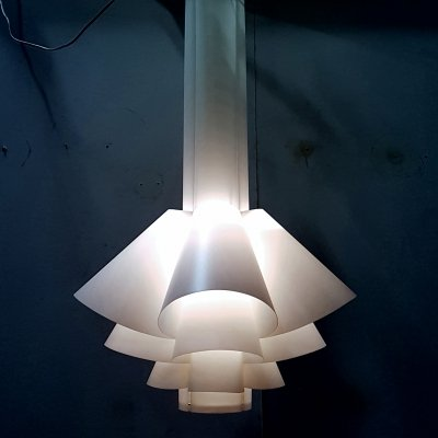 Space age design XL pendant lamp by Thorsten Orrling, Sweden 1970s