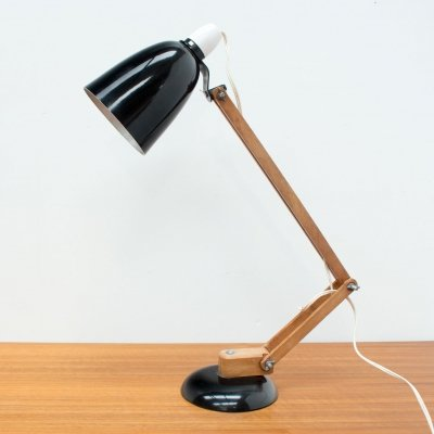 Vintage Black Maclamp by Terence Conran, 1960s