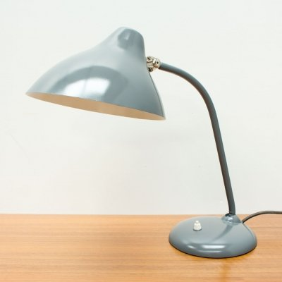 1950s Grey Hala Desk Lamp by H Th J A Busquet