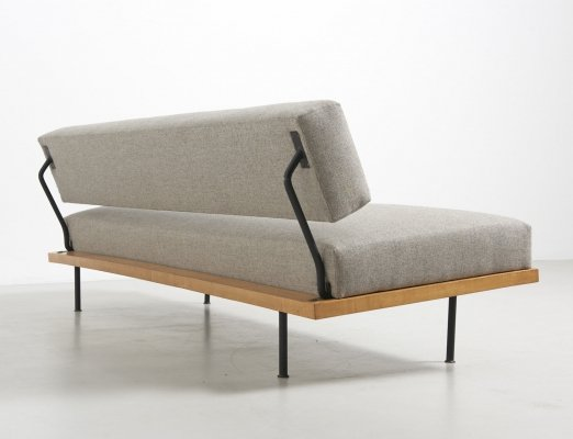 Daybed in fabric by Josef Pentenrieder for Hans Kaufeld, Germany