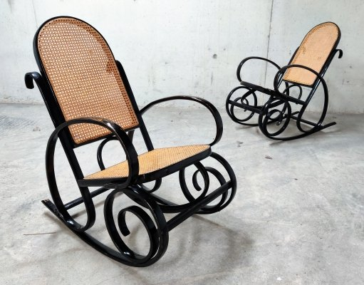 Pair of vintage rocking chairs, 1960s